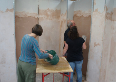 Plastering Courses run at the Building Block