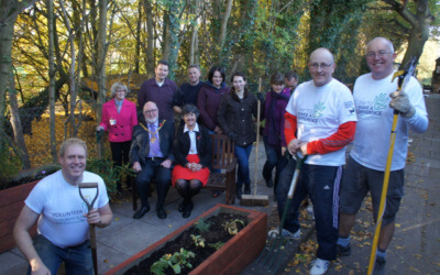 Timebank Autumn Clear up at The Building Block