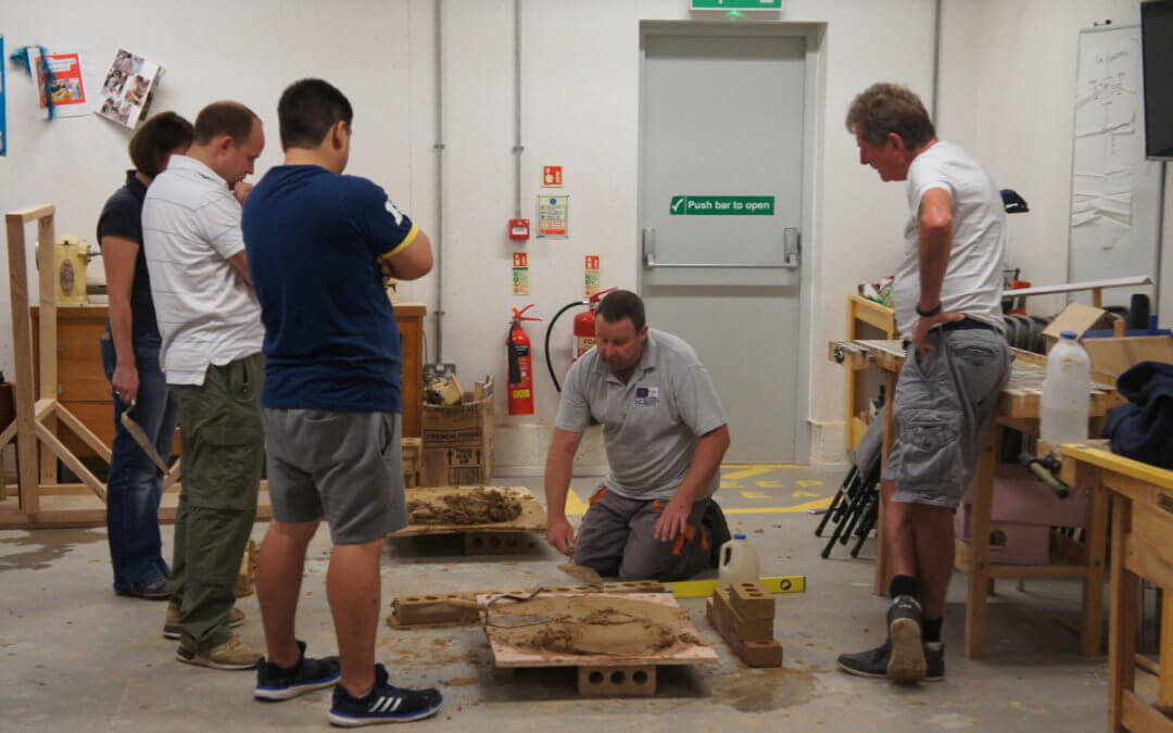 Bricklaying Course – Get on the next course