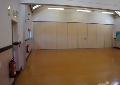 Main Hall Partition