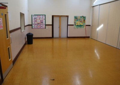 Main Hall with partition