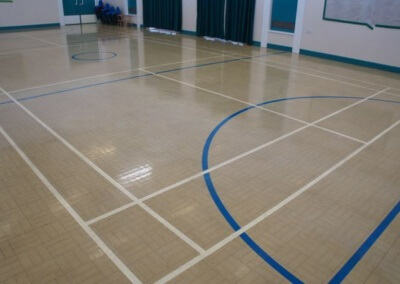 Main Hall Badminton Court