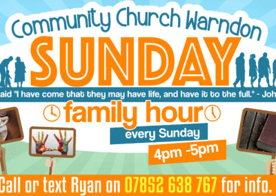 COMMUNITY CHURCH WARNDON – SUNDAYS