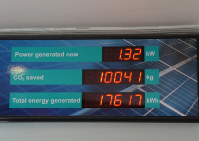 Energy efficient at The Warndon Hub