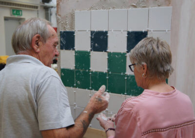 Tiling Course at the Building Block