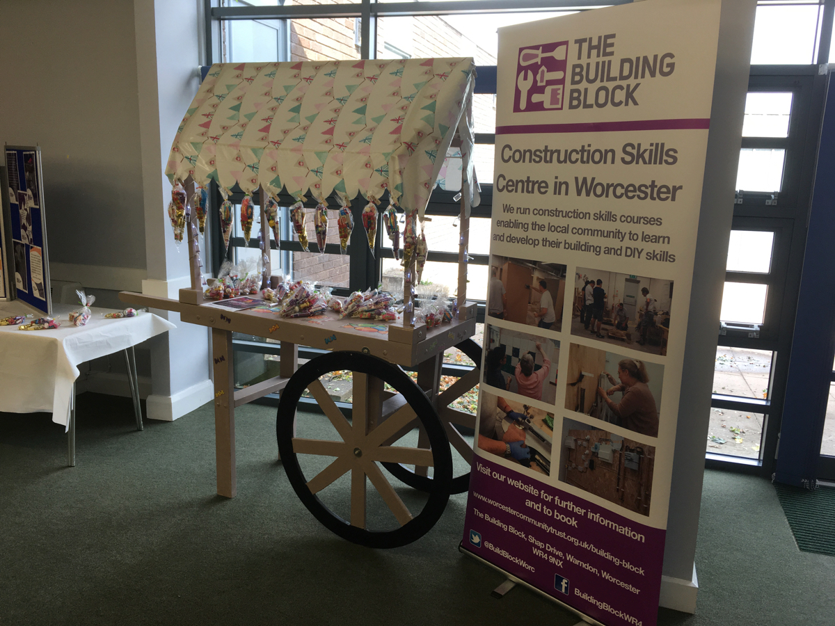 The Building Block Sweet Cart