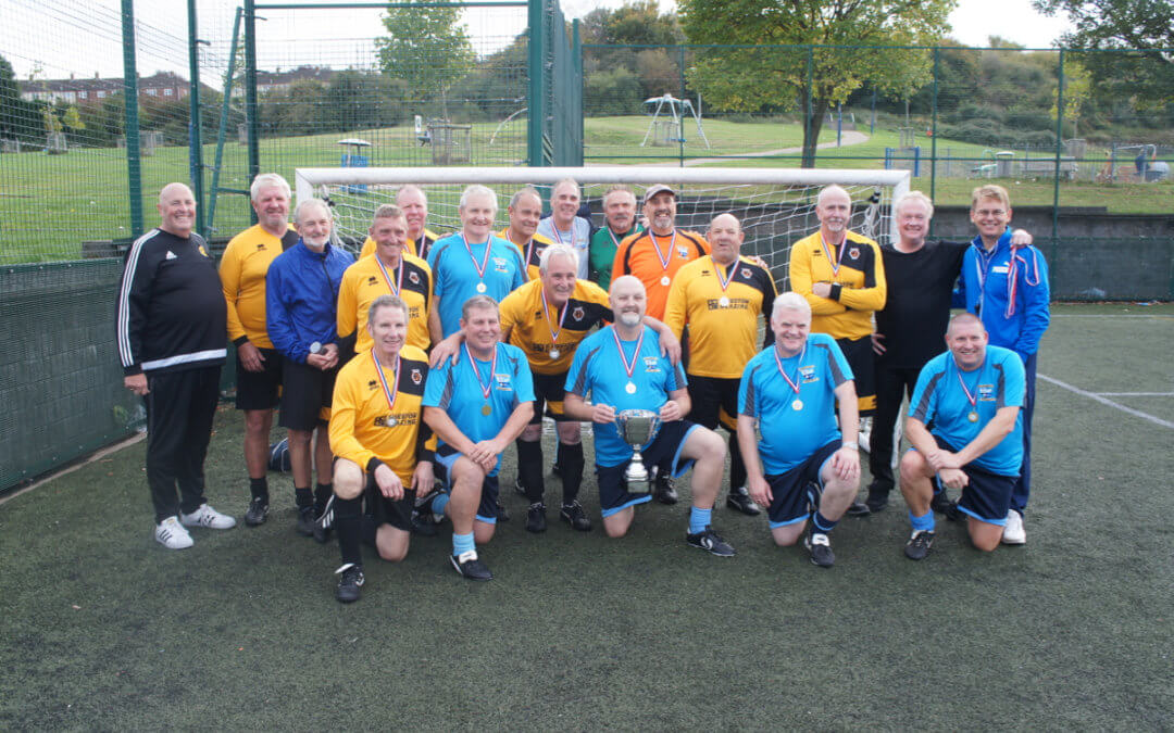 Walking Football supporting #SilverSundayUK
