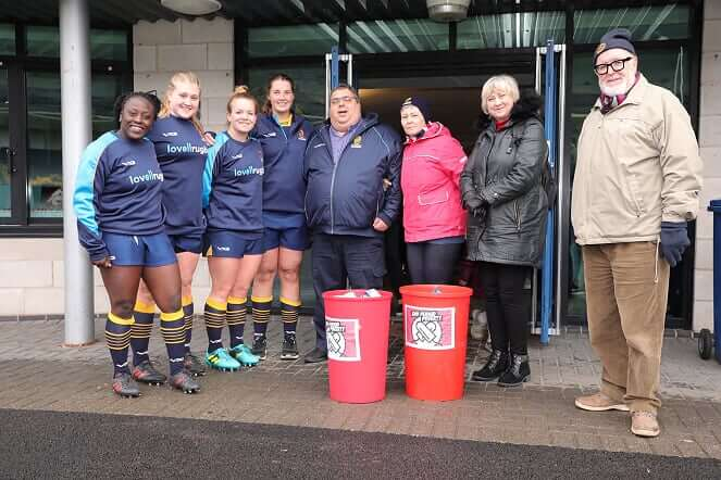 Worcester Valkyries support Red Box Campaign