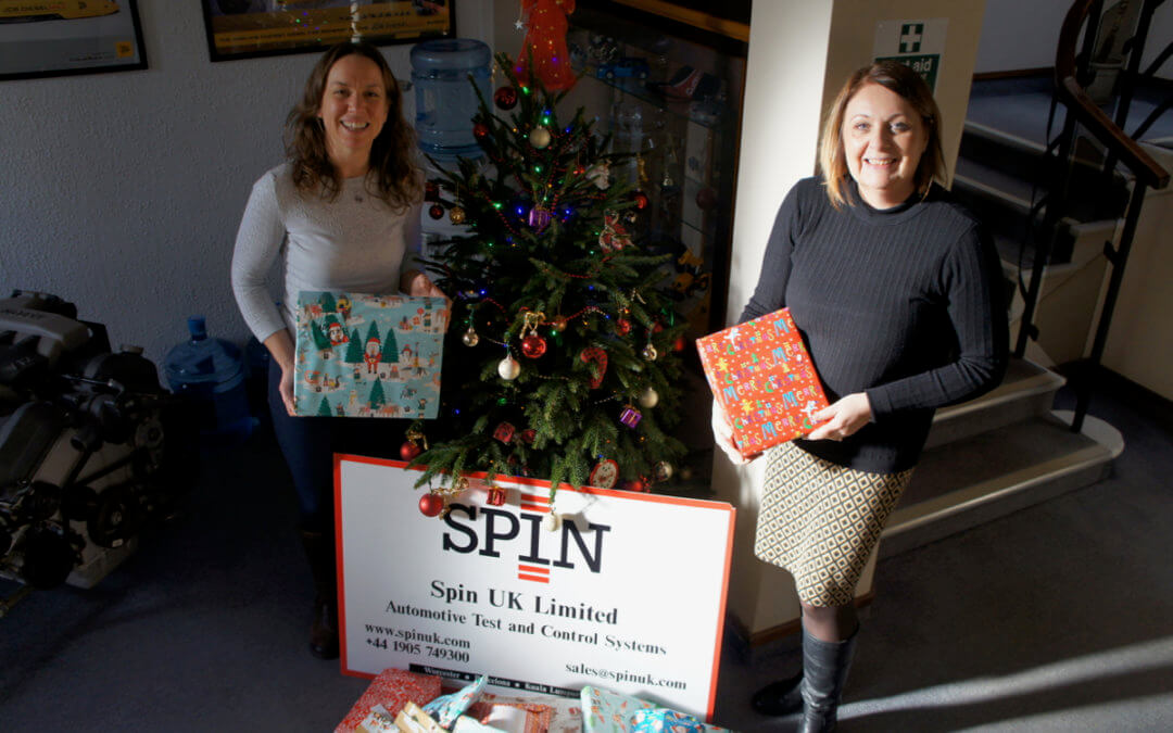 SPIN UK support the JOY Project