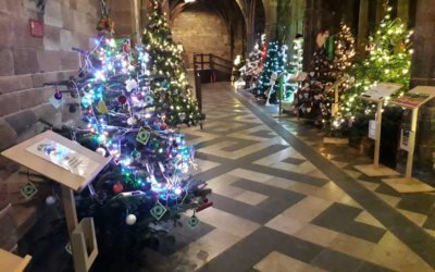 Dines Green Youth Christmas Tree for Worcester Cathedral