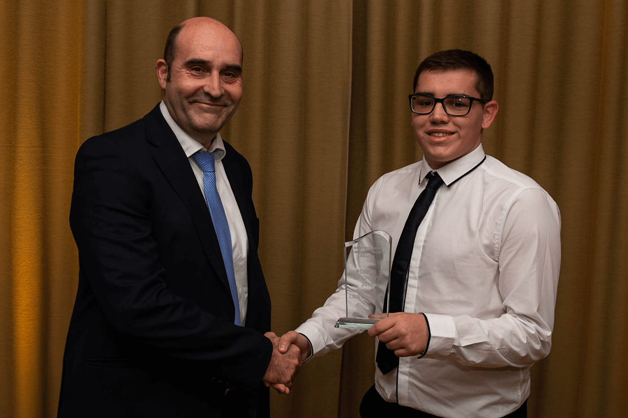 Lewis wins West Midlands Sports Award