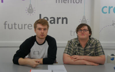 Student Volunteering Week 2019 – Ben and Keenan are valued members of our Teams