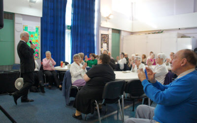 Snack & Chat helps to reduce loneliness in Older People