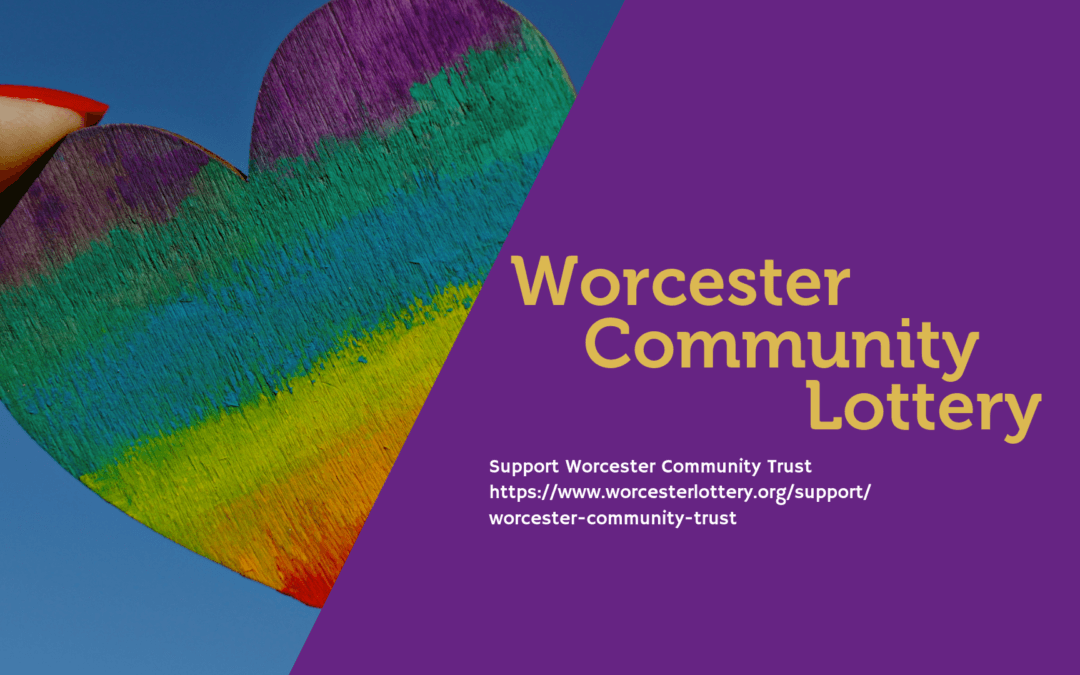 Worcester Community Lottery – help support WCT by getting involved