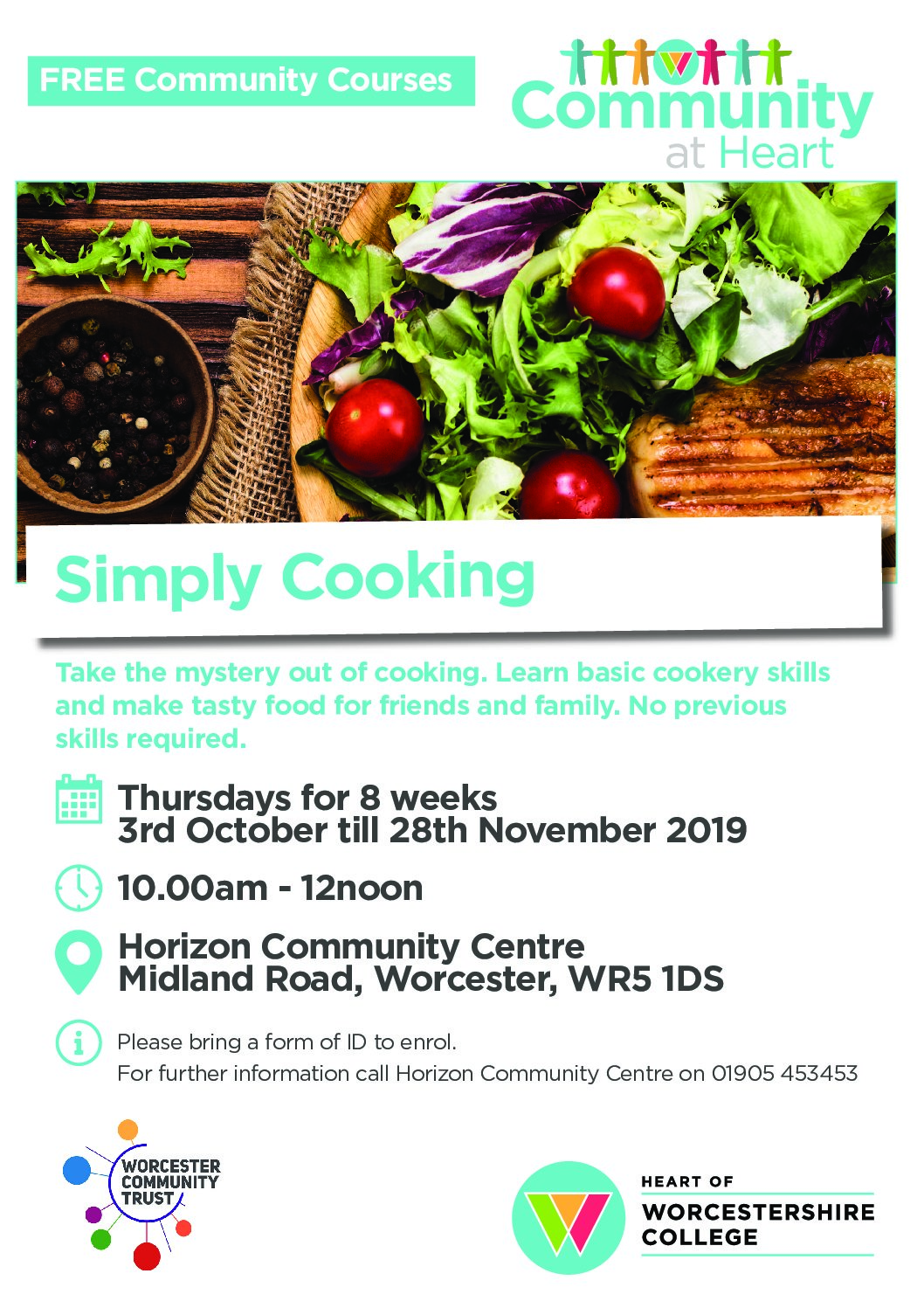 HoW College Simply Cooking Course – Horizon